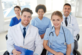 Group of Respiratory Care Specialists and Doctors