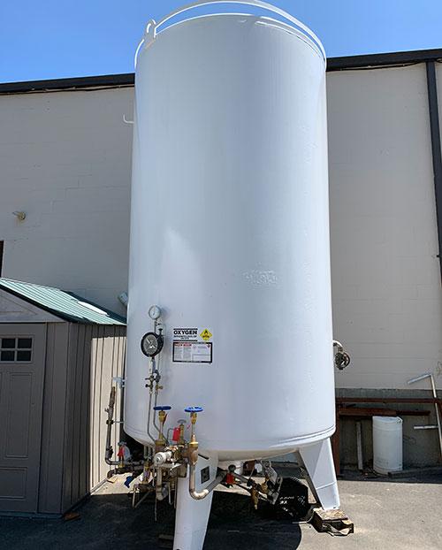 bulk oxygen tank TGP